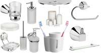 Изображение набора аксессуаров для туалета и ванной комнаты