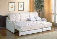 Изображение белого дивана-еврокнижки