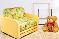 Изображение компактного детского дивана