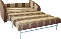 Изображение самого простого дивана-кровати