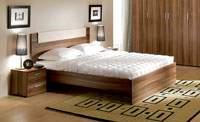 Изображение двухспальной кровати