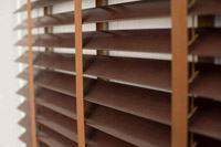 Изображение деревянные жалюзи в магазине