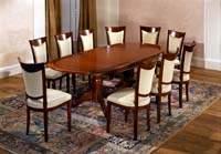 Изображение большой овальный обеденный стол