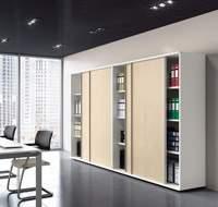 Изображение офисных шкафов с раздвижными дверцами