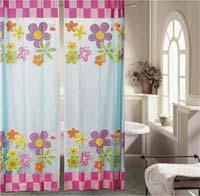 Изображение красивых штор для ванной