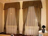 Изображение классический стиль гардин и штор