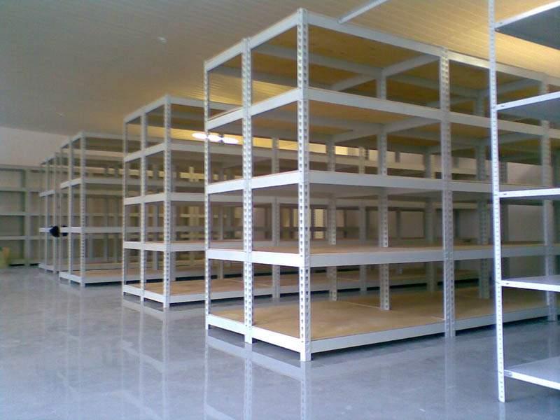 Изображение металлических стеллажей для офисов