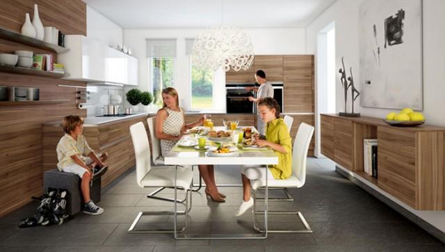 Комфорт на кухне зависит от множества элементов