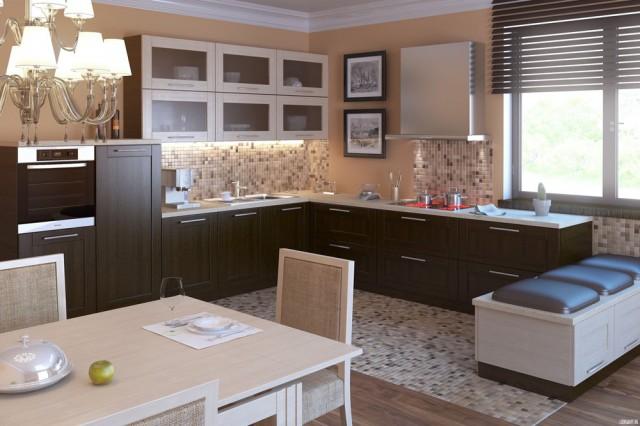 Как выбрать красивый кухонный гарнитур