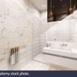 акцентнаЯ стена в ванной в стиле современнаЯ