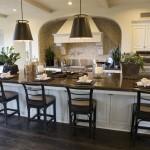 барные стульЯ с высокой спинкой длЯ кухни