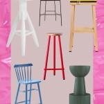 барные стульЯ зеленые длЯ кухни