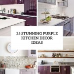 белаЯ кухнЯ фиолетовые стены