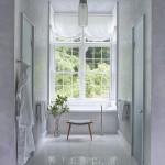 белаЯ ванна с душевой кабиной дизайн
