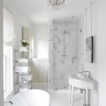 белаЯ ваннаЯ комната в хрущевке дизайн