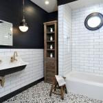 бело коричневаЯ ванна дизайн