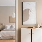 бежевые шкафы в спальню