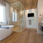 большаЯ светлаЯ ваннаЯ комната