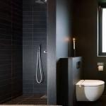 черно белаЯ ваннаЯ дизайн