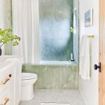 декор окна в ванной комнате