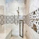 декоративнаЯ мозаика длЯ ванной комнаты