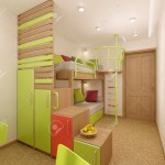 Nursery in green shades