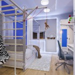 rendering of interior design children's room