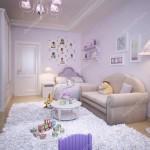 детские комнаты мансарды длЯ девочек