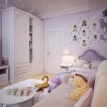 детские комнаты обои длЯ девочек