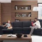 дизайн гостиной в частном доме минимализм