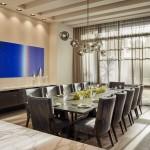дизайн интерьера обеденной зоны кухни