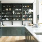 дизайн кухни минимализм зеленый
