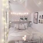 дизайн маленькой комнаты спальни с кроватью