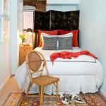 дизайн маленькой спальни кабинета