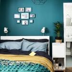 дизайн маленькой спальни с белой мебелью