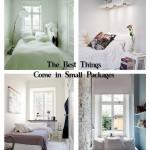 дизайн маленькой спальни с телевизором
