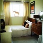 дизайн маленькой спальни в классическом стиле