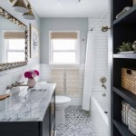 дизайн маленькой ванной комнаты белой плиткой