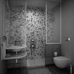 дизайн маленькой ванной в классическом стиле