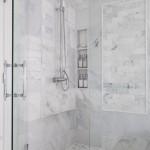 дизайн проект белой ванной комнаты