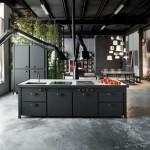 дизайн проект кухни в стиле лофт