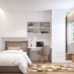 Teenage bedroom 3d render