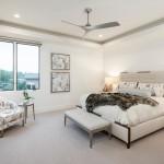 дизайн спальни в коричнево бежевом цвете