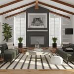 дизайн светлой гостиной минимализм