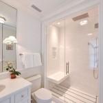 дизайн ванной комнаты белый мрамор