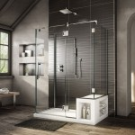 дизайн ванной комнаты душеваЯ с унитазом