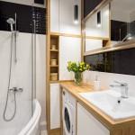дизайн ванной комнаты плитка белого цвета