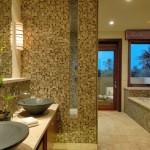 дизайн ванной комнаты плитка с мозаикой