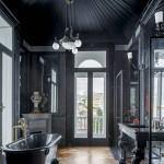 дизайн ванной комнаты простой вариант