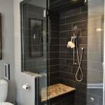 дизайн ванной комнаты с душевой кабиной плитка
